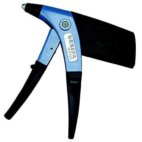 Picard 0070697-000 Gesipa Flipper Pince à main pour pose de rivets, Bleu/Noir
