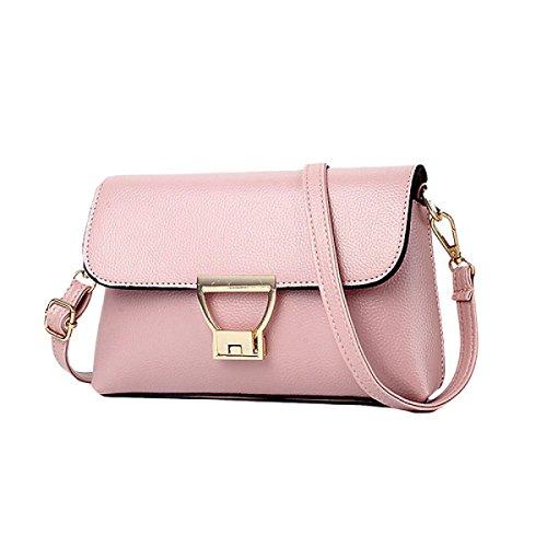 Sacchetto Di Spalla Messenger Bag Busta Pochette Ladies Borse Delle Borse Pink