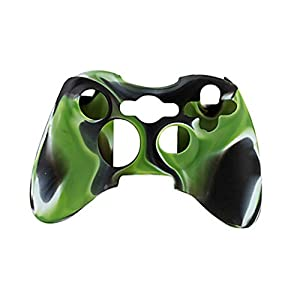 Feicuan Handle Case Cover Wireless Handle Protector Camouflage Sleeve für XBOX360 Color Green