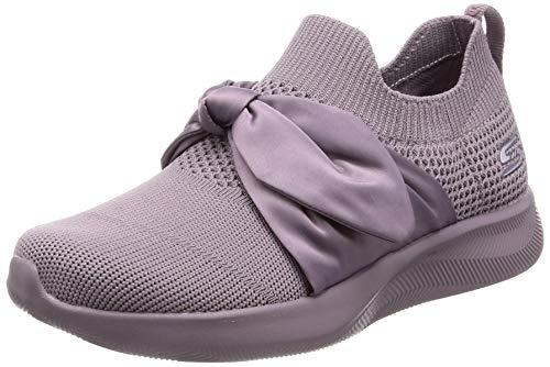 Skechers BOBS Damen Sneaker Squad 2 Bow Beauty Lila (Mauve), Schuhgröße:EUR 37 - Frauen Bob Sneaker Skechers