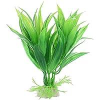Yunhigh Plantas Artificiales para Tanques de Peces, Simulación Plantas acuáticas Decoración plástica ...
