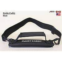 C12A99Golf Funky Caddy Golf Tasche Driving Range Carrier Sleeve Licht mit Klettverschluss schwarz