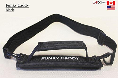 Bolsa ligera transporte palos golf velcro, color negro