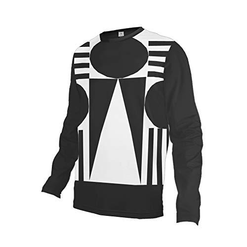 Daisy Langarm-shirt (Uglyfrog Bike Wear Atmungsaktiv Trendy Herren Downhill/MTB Jersey Mountain Bike Shirt Fahrradtrikot Langarm Freeride BMX Fr¨¹Hling Top XIN20)
