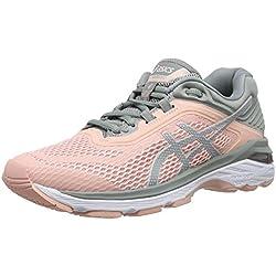 Asics Gt-2000 6, Zapatillas de Entrenamiento para Mujer, Gris (Frosted Rose/Stone Grey 700), 37 EU