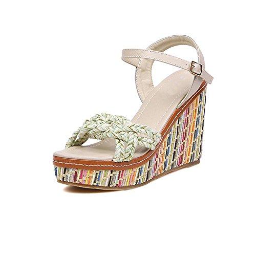sandali-estate-delle-donne-peep-toe-scarpeverde-chiaro-luce-rossa-36-light-green