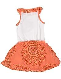 Donna Vestiti it Abbigliamento Desigual Amazon Arancione RxB8ZHww