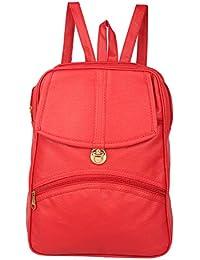 Rajni Fashion Girls Stylish Blue PU Backpack,School Bag, Women Backpack,  Tution Backpack 814db0e196