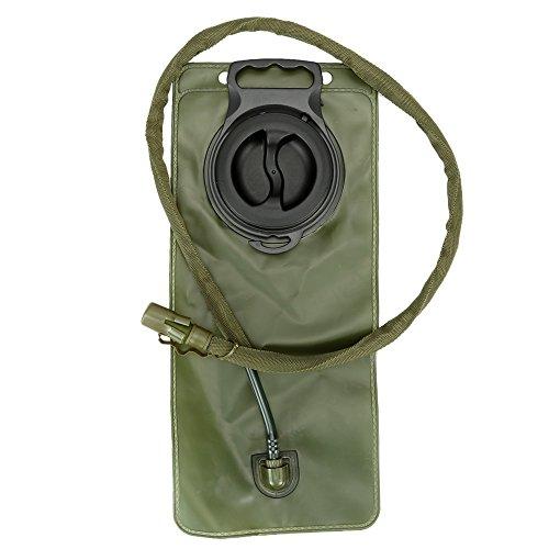 Docooler Laufen Hydration Ranzen Pack Rucksack + 2.5 L Wasser Blase Tasche Grün