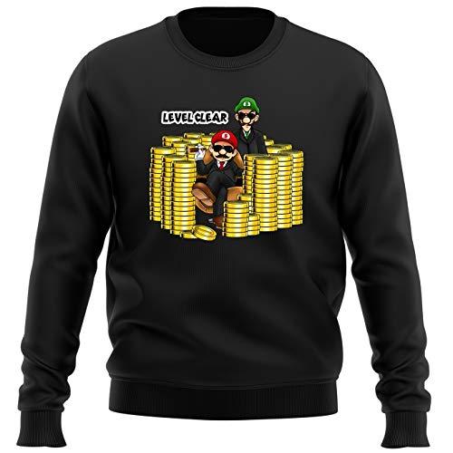 Sudadera Videojuego - Parodia de Super Mario Bros (664)