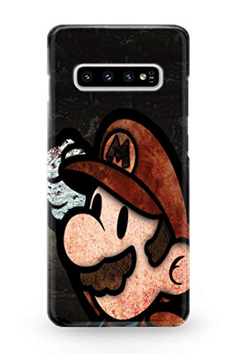 Case Me Up Handy Hülle für Samsung Galaxy S10 Super Mario Bros Luigi Old School Game 15 Designs