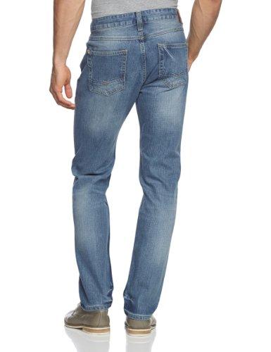 Cross Jeans Herren Jeans Normaler Bund F 194-228 Jack Blau (Vintate Used Look)