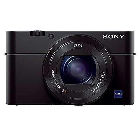 Sony DSC-RX100 III Digitalkamera (20.1 Megapixel Exmor R Sensor, 3-fach opt. Zoom, 7,6 cm (3 Zoll) Display, Full HD, WiFi/NFC)