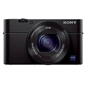 Sony DSC-RX100 III Digitalkamera (20.1 Megapixel Exmor R Sensor, 3-fach opt. Zoom, 7,6 cm (3 Zoll) Display, Full HD, WiFi/NFC) schwarz