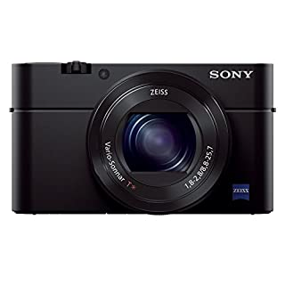 Sony RX100 III Advanced Compact Premium Camera with 1.0-Type Sensor, 24-70 mm F1.8-2.8 Zeiss Lens (DSC-RX100M3) - Black (B00KW3BJ1Y) | Amazon Products