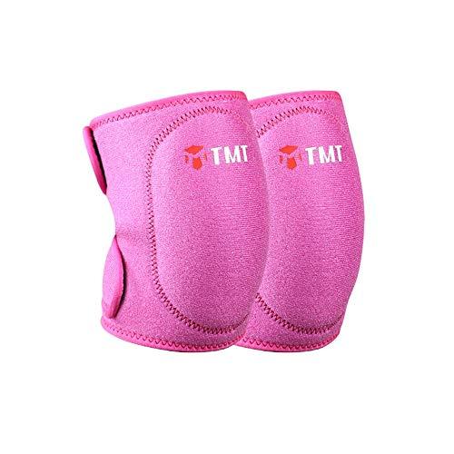 KneepadKneepad Männer und Frauen tanzen kniend Wärme Anti-Kollision Volleyball Yoga Ausrüstung Kinder Sportschutzausrüstung rosa, M (Yoga-ausrüstung Für Frauen)