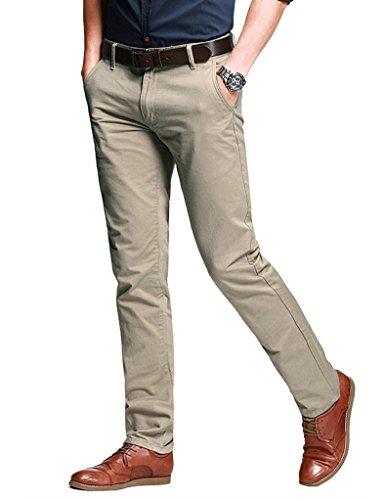 Match Herren Slim Casual Hose #8025 8025 Licht aprikose