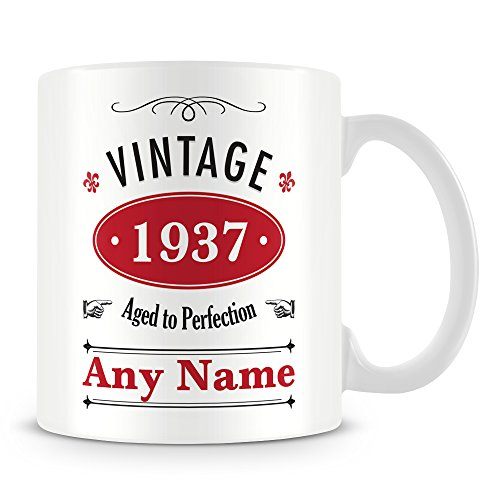 Vintage (età 80)/Cup-Tazza personalizzata personalizzato regalo di