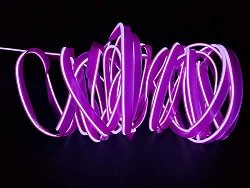 2M / 6FT USB EL Draht Super Helle Neonröhrenbeleuchtung Hohe Helligkeit Elektrolumineszenz für Weihnachten Weihnachtsfeier Dekoration ()