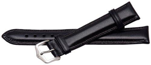 Bernex Ascot Unisex-Armbanduhr mit schwarzem Lederarmband GB42219