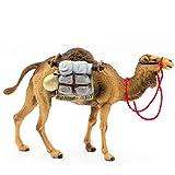 MAROLIN Kamel stehend mit Gep�ck, zu 12cm Fig. (Kunststoff)