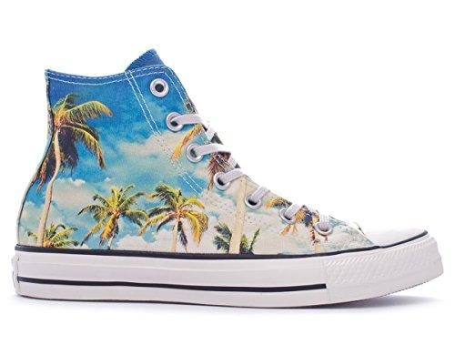 Converse Ctas Union Jack, Baskets mode mixte adulte bleu tropical