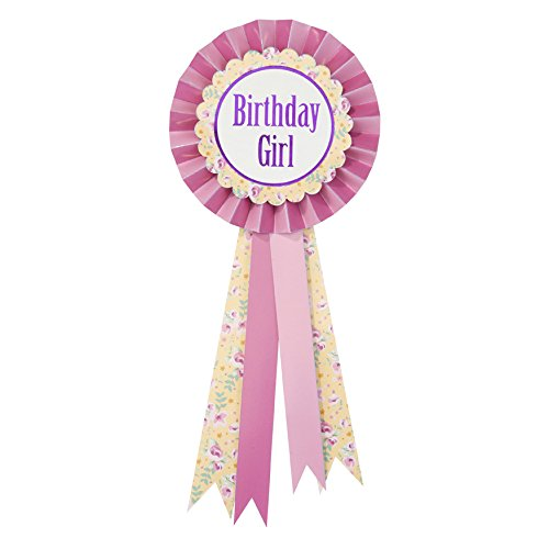 Pink Supplies Pony Party (Talking Tables Pony Party Birthday Girl Rosette Badge)