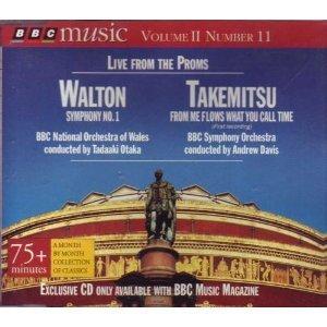 Live from the Proms: BBC Music Volume II Number 11 Walton & Takemitsu (UK Import)