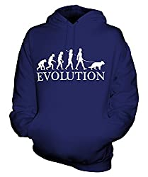 Candymix - German Shepherd Evolution Of Man - Unisex Hoodie Mens Ladies Hooded Sweater