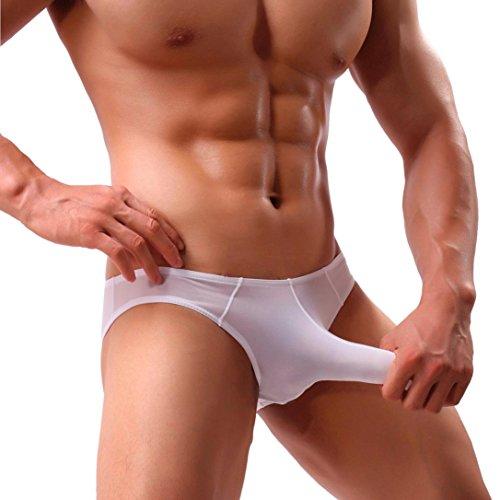 01218beeb Muium Mens Sexy Underwear Elephant Bulge Underpants Pouch T Lingerie Shorts  Brief Panties (L