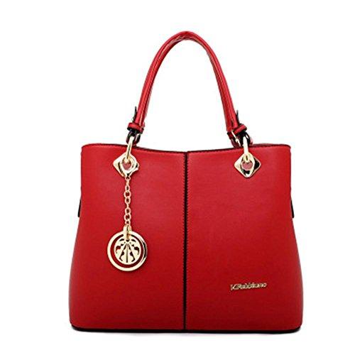 GBT 2016 Neuer Temperament-Handtaschen-Art- und Weiseluxuxhandtaschen-Schulter-Beutel Red