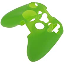 Generic Silicone Protective Skin Case Cover for XBOX 360 Game Controller - Green
