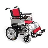 Carrozzina Elettrica per Disabili per Anziani, Carrozzina Automatica per Disabili per Anziani, Scooter Elettrico a Quattro Ruote Pieghevole per Allattamento, Capacità Di Carico 100 Kg @, Y-L, Batte
