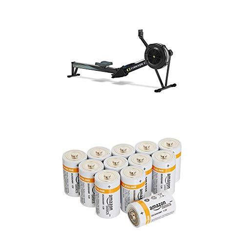 Rudergerät Concept2 Indoor Rower 2711 mit AmazonBasics Batterien