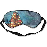 Awesome Christmas Tree Snow 99% Eyeshade Blinders Sleeping Eye Patch Eye Mask Blindfold For Travel Insomnia Meditation preisvergleich bei billige-tabletten.eu
