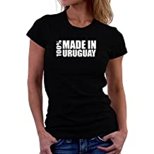Teeburon 100 made in Uruguay Camiseta Mujer