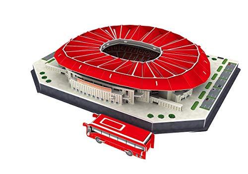Wanda-Metropolitano 3D Puzzle,JTIH® Multi Coloured