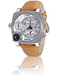 Sector - R3251907015 - Montre Homme - Compass - Chronographe - Boussole - Analogique - Bracelet Cuir