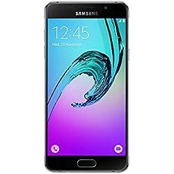 Samsung Galaxy A5 Téléphone débloqué 4G (Ecran: 5,2 Pouces - 16 Go - Nano-SIM - Android) Noir