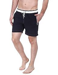 Zobello Mens Swim Shorts (41002B_Black_X-Small)
