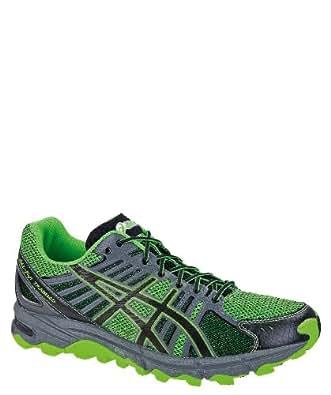 ASICS Gel Fuji Trabuco Mens Running Shoes, Size 9 UK Green