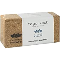 Preisvergleich für CalmingBreath Yogablock aus Kork