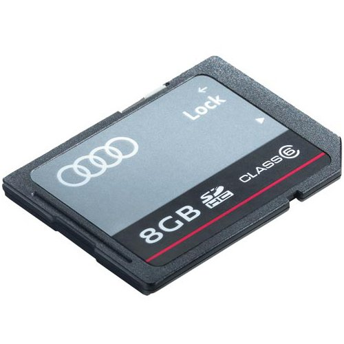 Audi 8R0063827F Sdhc-Karte 8GB