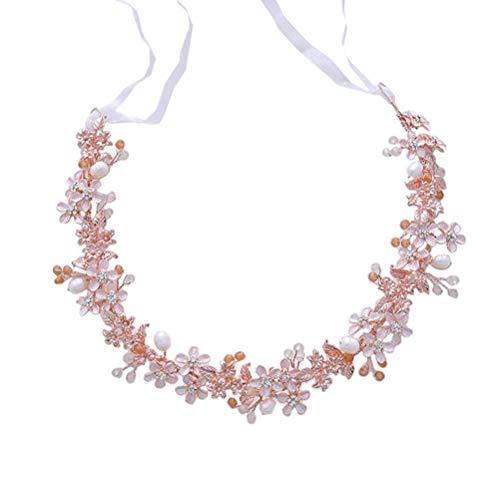 Mode Bridal Stirnband Exquisite Blume Haarband Kopfschmuck Headwear Hochzeitskleid Zubehör (D2204)