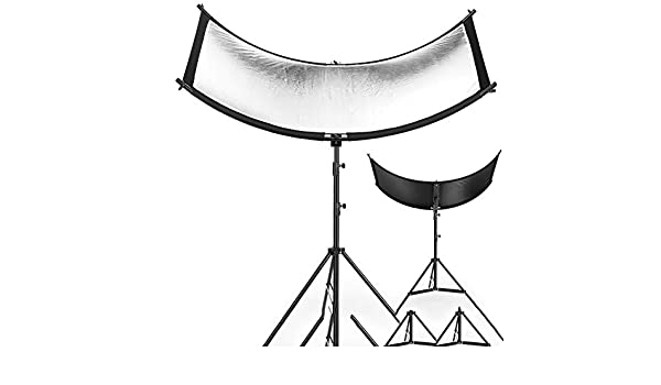 MDFGHJD 16055Cm 3 in 1 Reflector Collapsible Photography Light Reflective Screen for Studio Multi Photo Disc Diffuers