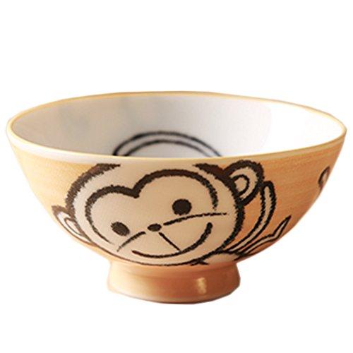Baby-Affe-Entwurfs-Multifunktions kreative keramische Schüssel nette Bowl