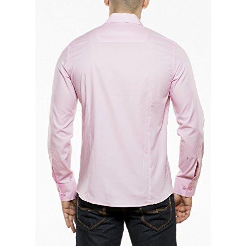 KDWN -  Camicia Casual  - Uomo Rosa