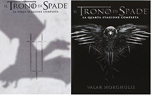 Game of Thrones 3 + 4 Staffel Season 3 + 4 DVD...