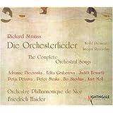 Sämtliche Orchesterlieder