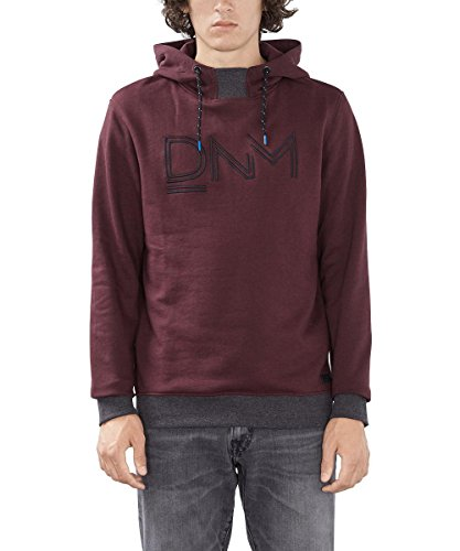 edc by ESPRIT Herren Sweatshirt Rot (BORDEAUX RED 600)
